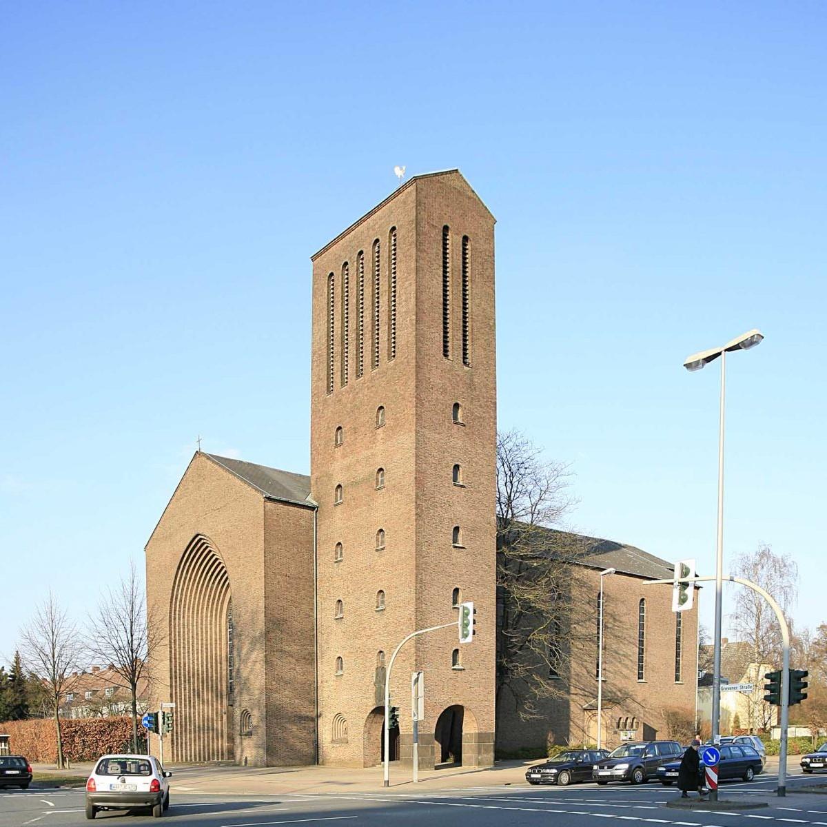 Benteler & Wörmann: Dreifaltigkeitskirche, 1938/39 Foto: Stefan Rethfeld