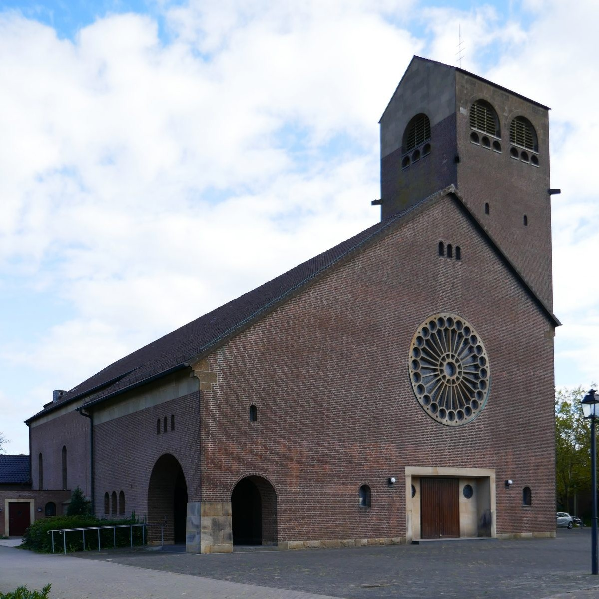 Benteler & Wörmann: St. Heinrich, Groß-Reken, 1954-55 Foto: Stefan Rethfeld