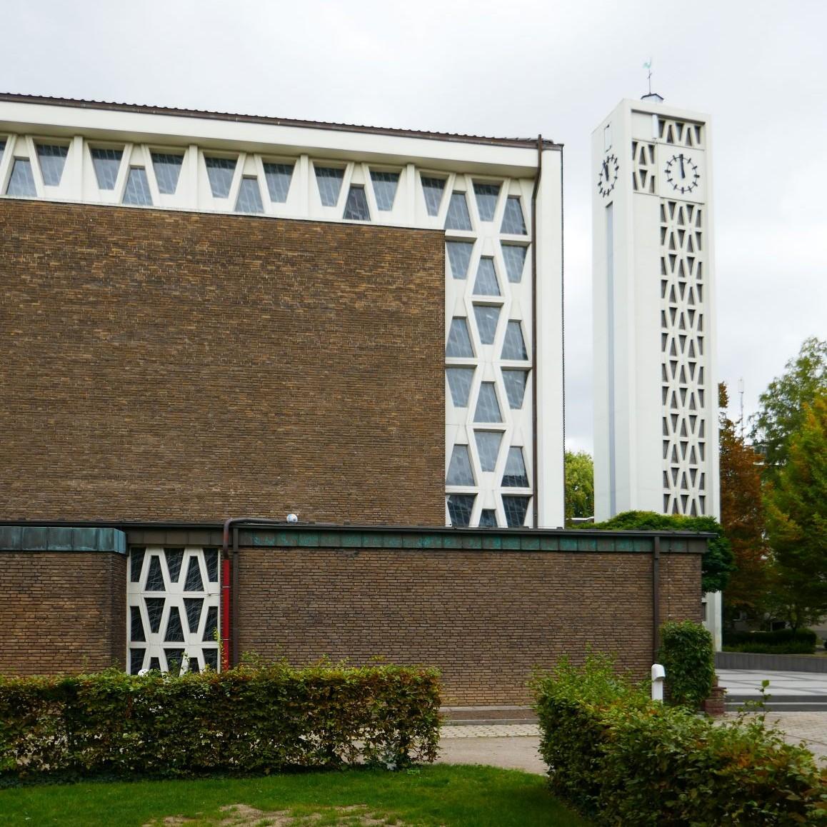 Benteler & Wörmann: St. Johannes, Werne, 1959-62 Foto: Stefan Rethfeld