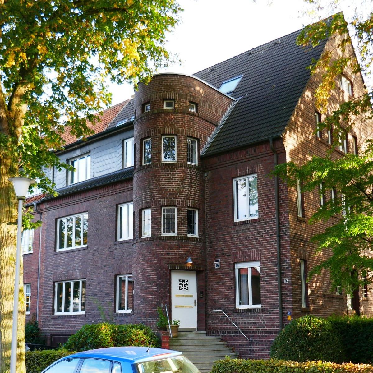 Benteler & Wörmann: Wohnhaus Mauritz-Lindenweg, Münster, vor 1935 Foto: Stefan Rethfeld