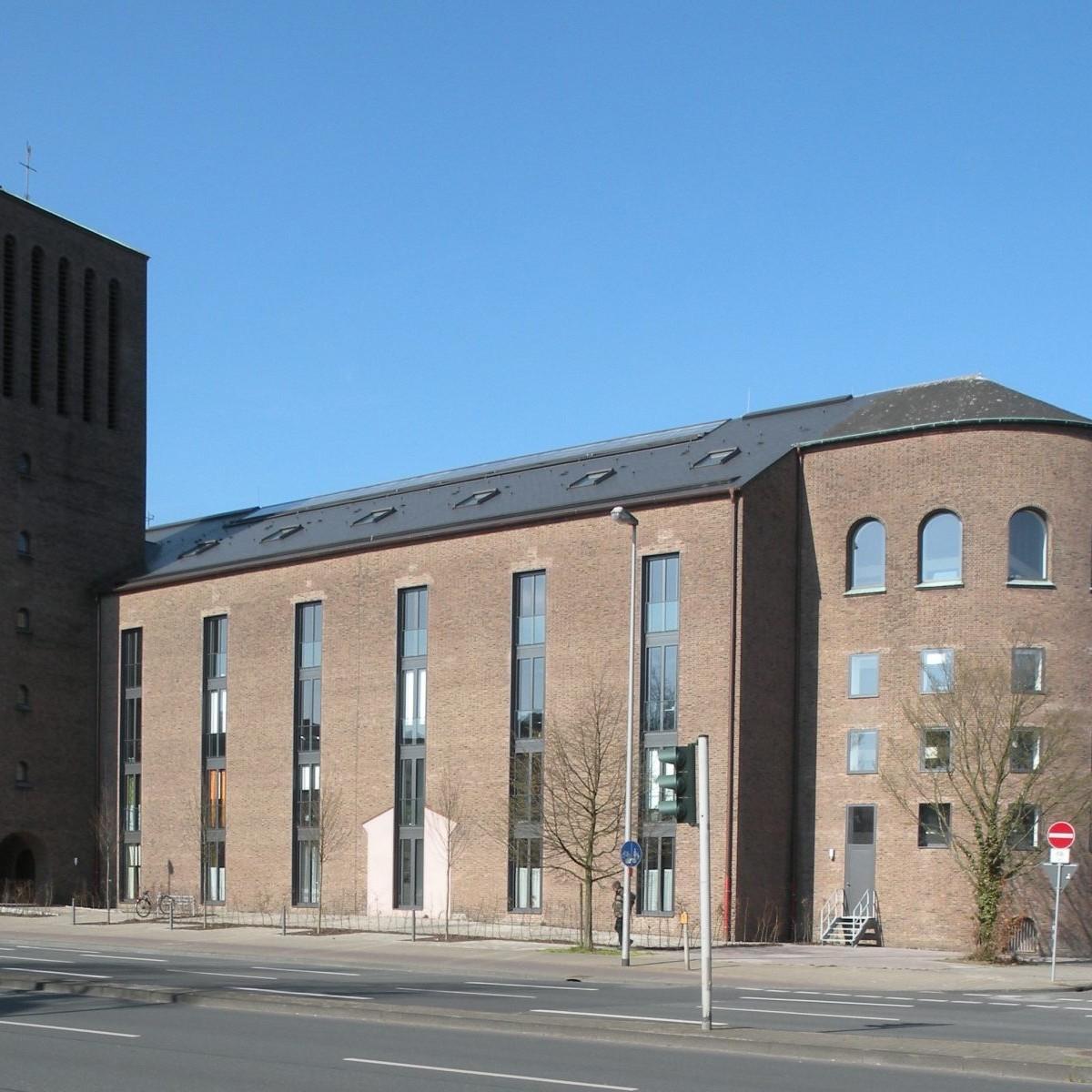 Münster: Dreifaltigkeitskirche (1938/39 Benteler & Wörmann, Umbau 2010-13 Pfeiffer Ellermann Preckel) - Foto: Stefan Rethfeld