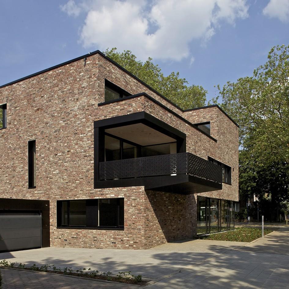 Münster: Wohnhaus Strathmann, Piusallee (Andreas Heupel Architekten BDA, 2010) - Foto: Andreas Heupel Architekten BDA