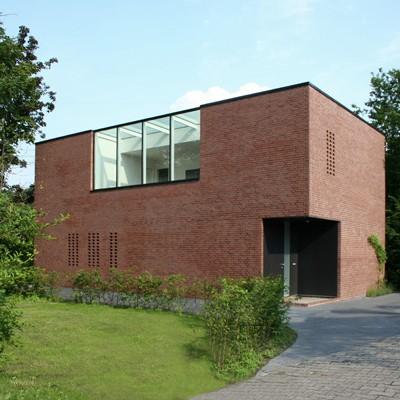 Münster: Wohnhaus Kriegerweg (2007, hehnpohl architektur BDA) - Foto: hehnpohl architektur BDA