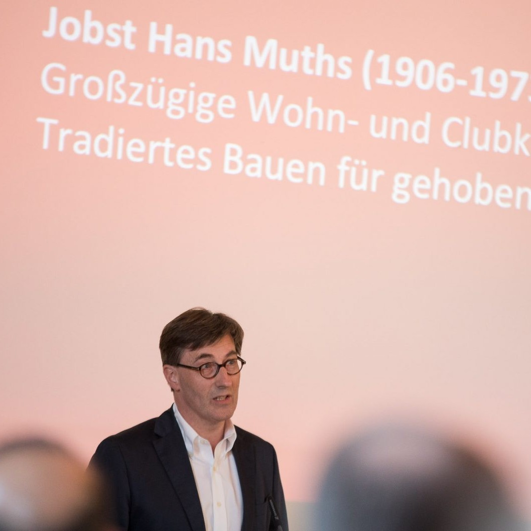 A-Z Muths: Vortragsabend, Dr. Georg Hünnekens (Zwei-Loewen-Klub) Foto: Markus Bomholt