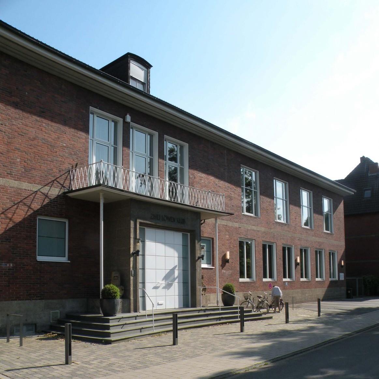 Kultivierte Sachlichkeit: Zwei-Löwen-Klub in Münster, 1951 von Jobst Hans Muths gebaut Foto: Stefan Rethfeld