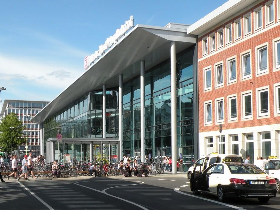 Hauptbahnhof Münster - Foto: Stefan Rethfeld
