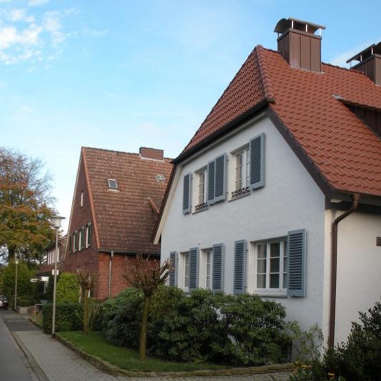 Münster: Wohnhaus Stoppenbrink, Lenauweg (Architekt: Jobst Hans Muths, 1934) Foto: Stefan Rethfeld