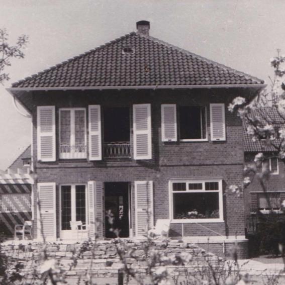 Münster: Wohnhaus, Egbertstraße 10 (Architekt: Jobst Hans Muths, 1936) Foto: Stefan Rethfeld