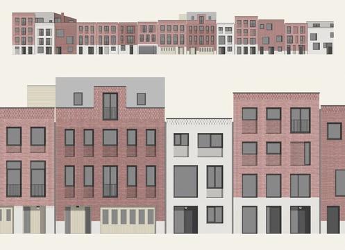 biq architecten: CPO Hooidrift Rotterdam - Foto: biq architecten