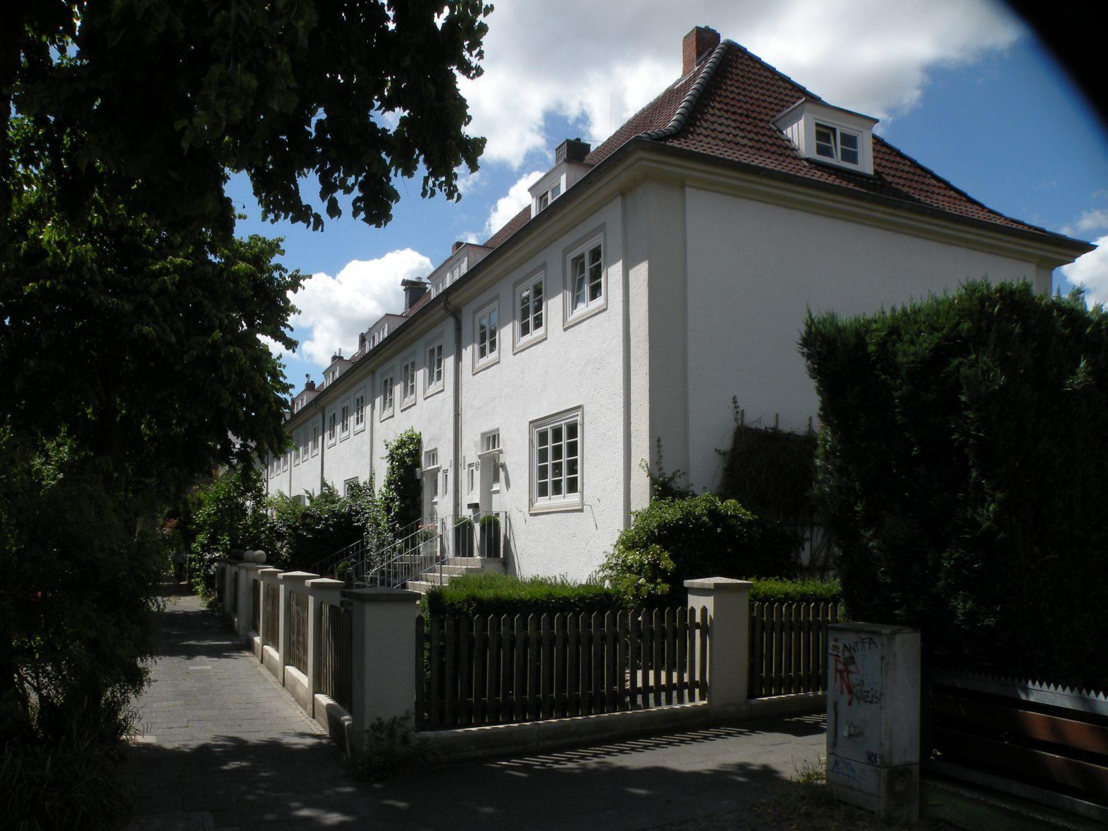 Münster: Wohnsiedlung Kinderhauser Strasse (Architekt: Gustav Wolf, 1924-30) - Foto: Stefan Rethfeld
