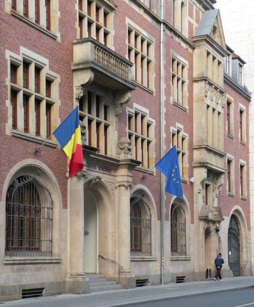 Rumänische Botschaft_Berlin Foto Stefan Rethfeld