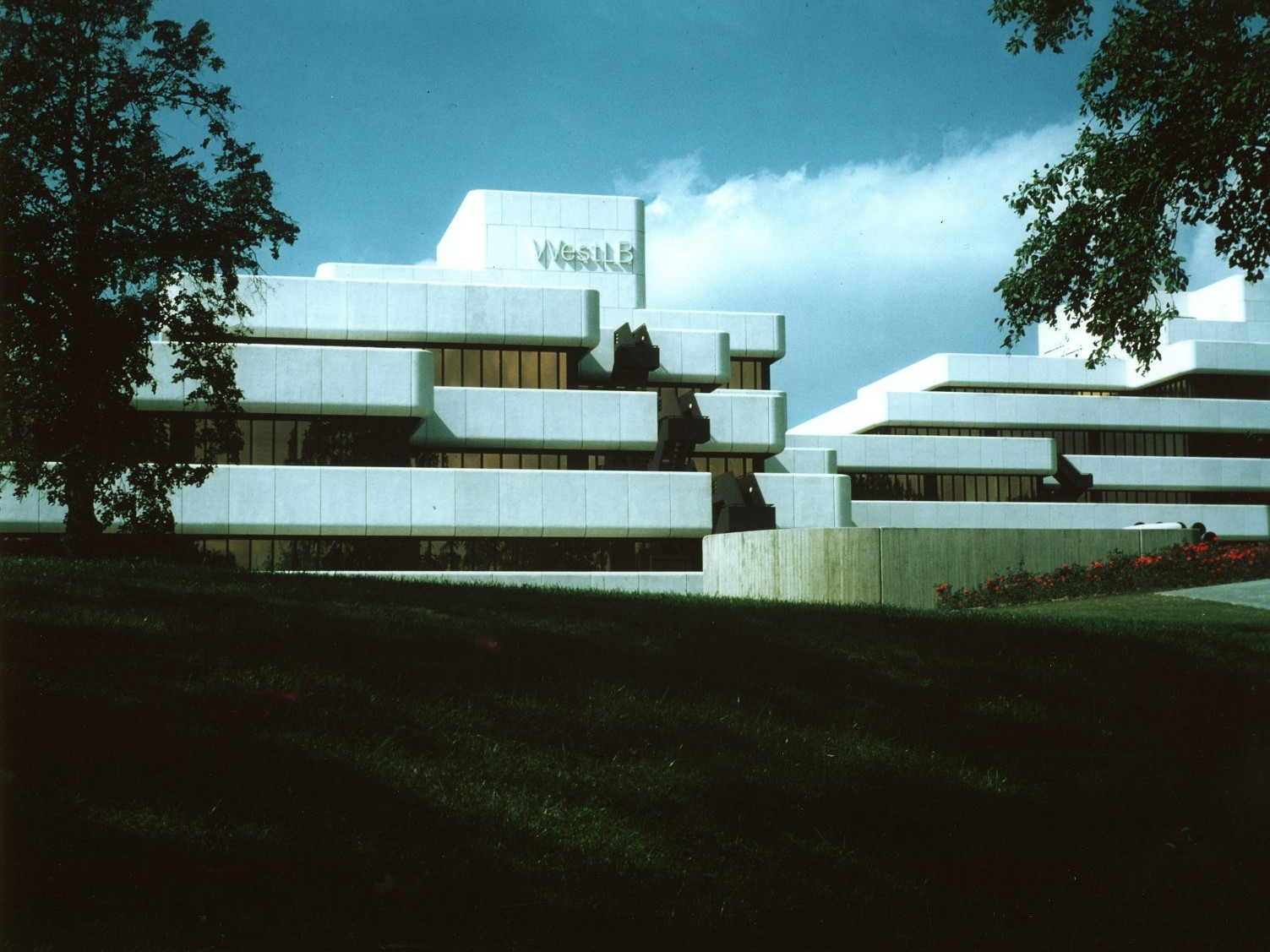 Harald Deilmann: WestLB Münster, 1967-1975 - Foto: Baukunstarchiv NRW, Nachlass Harald Deilmann