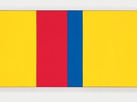 Max Bill: rythme de couleurs du pays de brancusi, 1976/77 - Foto: Nachlass Max Bill an Angela Thomas (c) Angela Thomas Schmid/VG Bild-Kunst, Bonn 2008