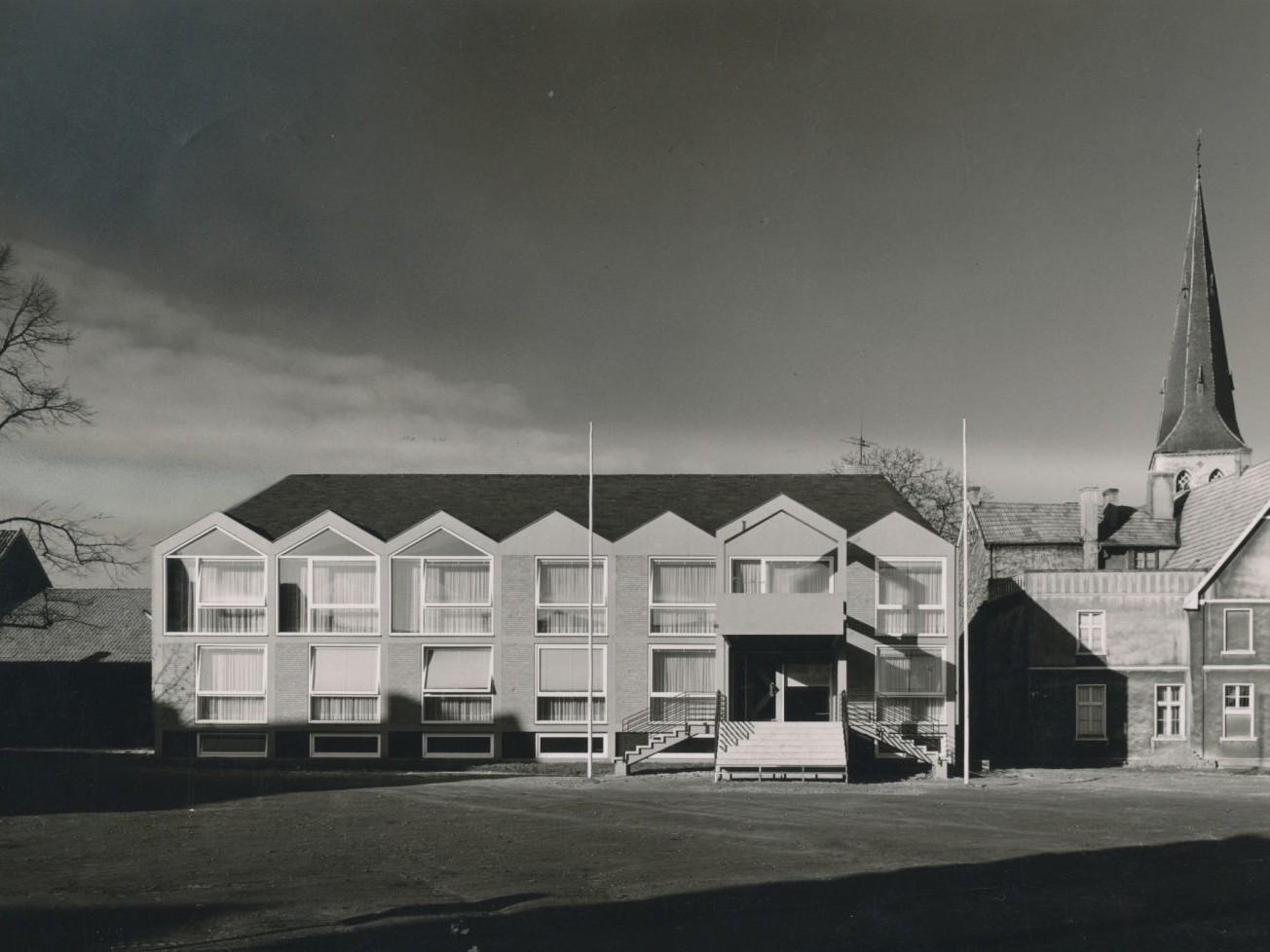 Harald Deilmann: Rathaus Nordwalde, 1957 - Abb.: Baukunstarchiv NRW / Nachlass Harald Deilmann, Foto: Friedhelm Thomas