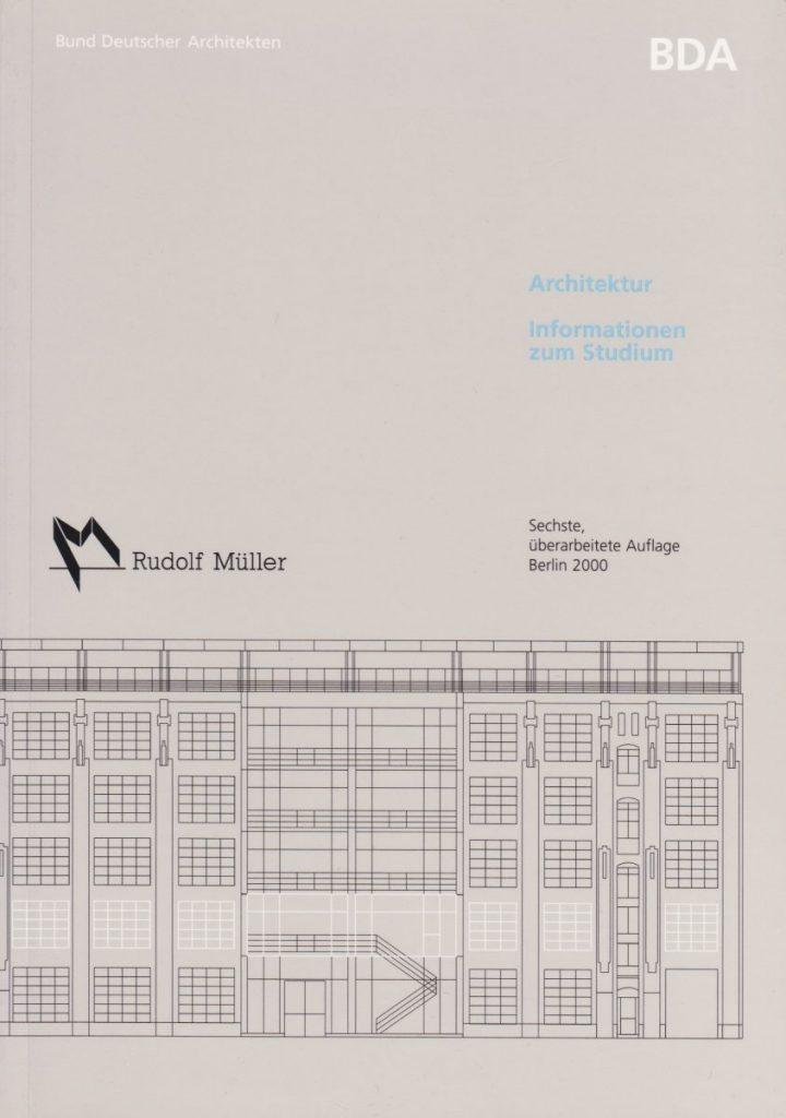 BDA Studienführer - mit Übersicht aller 72 Hochschulen in Deutschland (2000)