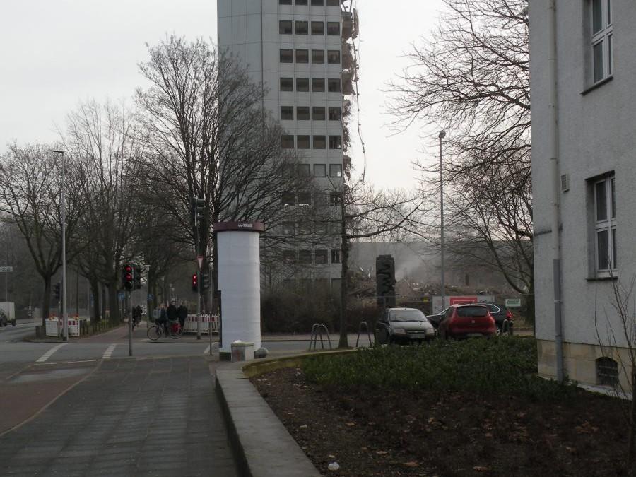 Oberfinanzdirektion Münster, Abriss 2016 - Foto: Stefan Rethfeld