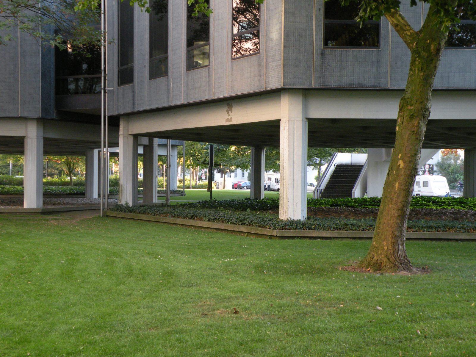 Oberfinanzdirektion Münster: Pavillons mit Konferenzräumen - Foto: Stefan Rethfeld