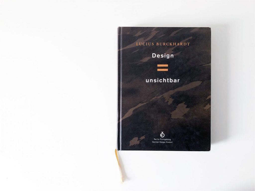 Design ist unsichtbar - ein Sammelband für und von Lucius Burckhardt. Im Jahr 1995 wurde er vom Rat für Formgebung mit dem Bundespreis für Förderer des Designs ausgezeichnet.