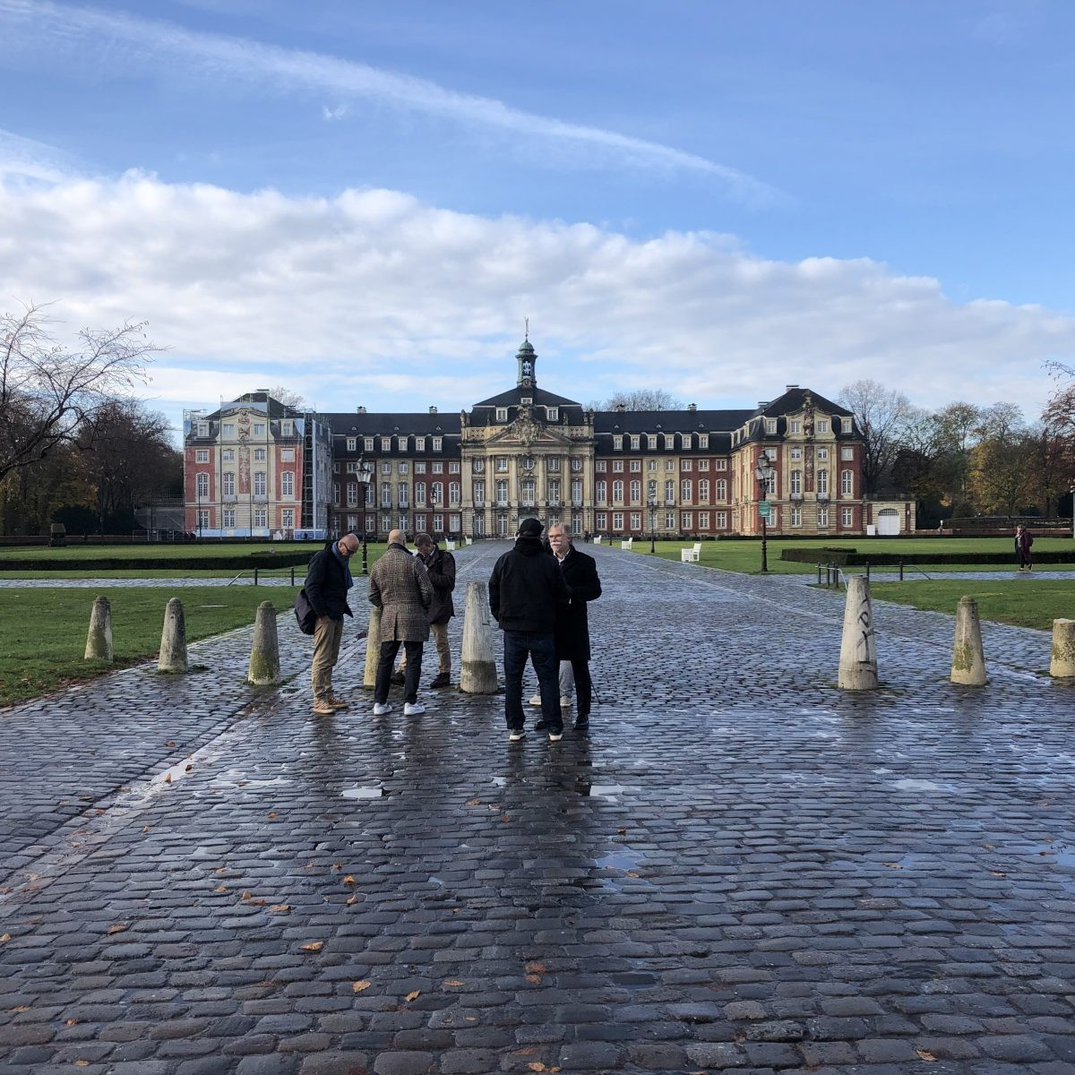 Schloss Platz Initiative 2020: Vor Ort im Schlossareal Münster - Foto: Stefan Rethfeld
