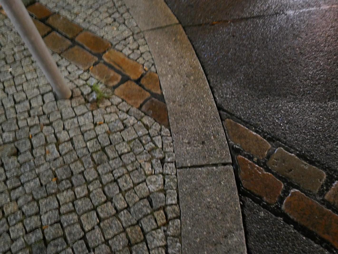 Mauerverlauf vor Futurium Berlin - Foto: Stefan Rethfeld