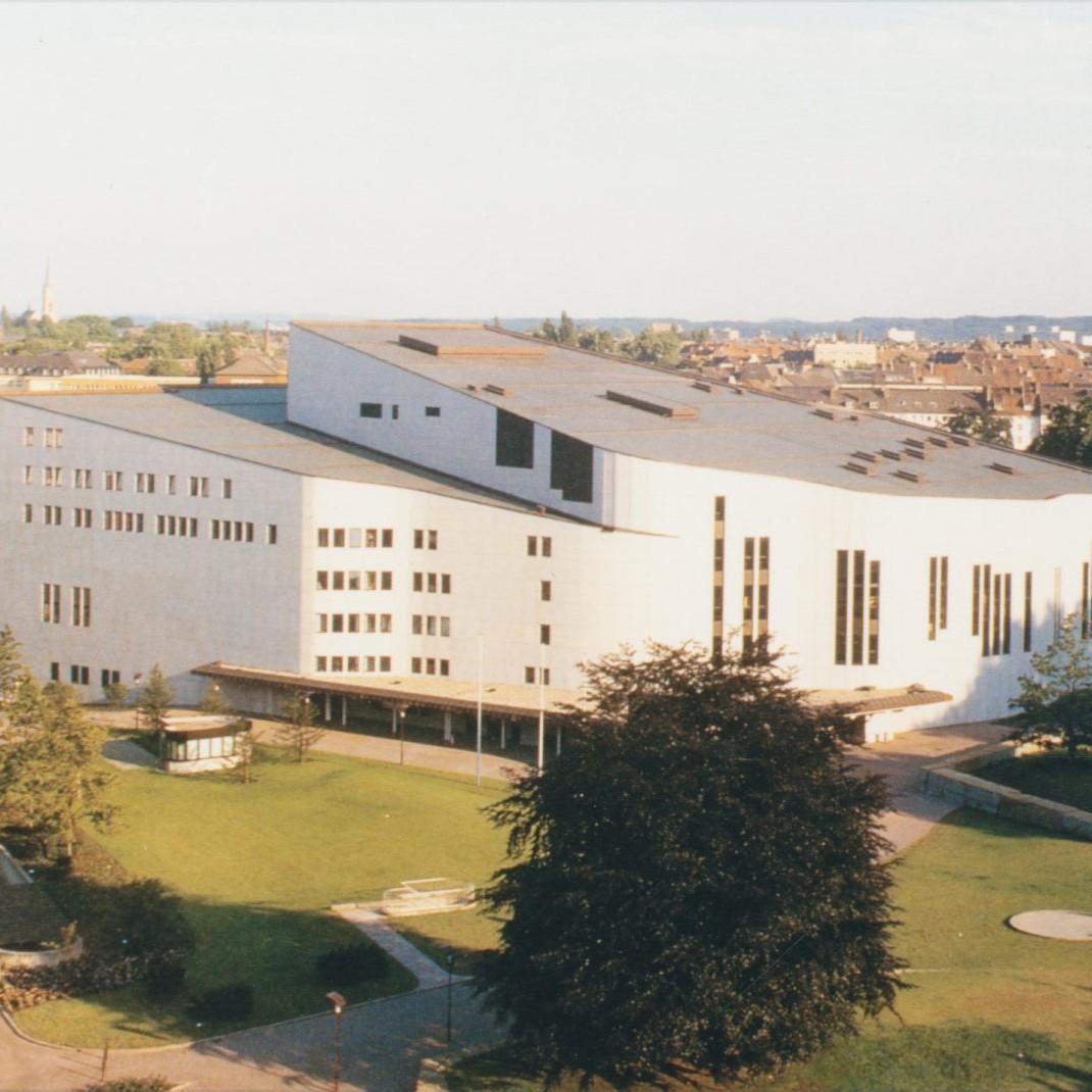 Alvar Aalto: Theater Essen, von Harald Deilmann 1981-1988 ausgeführt