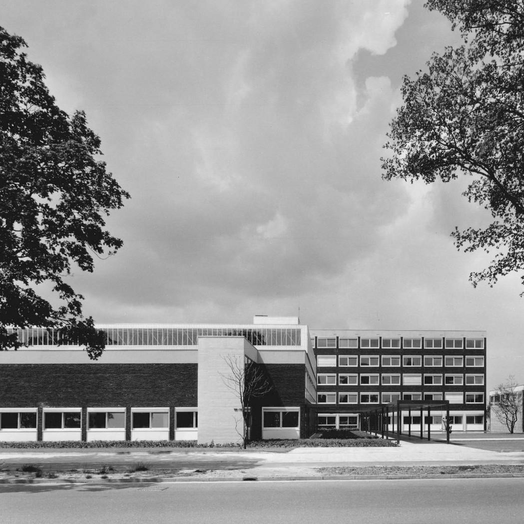 Harald Deilmann: Nordwestlotto Münster, 1958-1960 - Abb: Baukunstarchiv NRW, Nachlass Harald Deilmann, Foto: Friedhelm Thomas