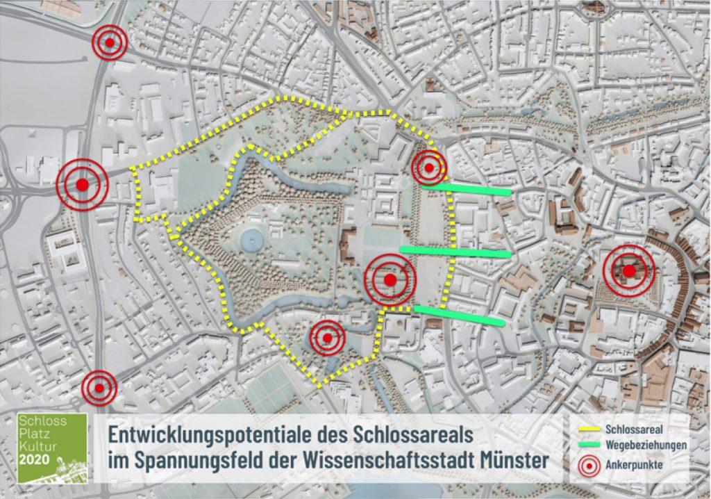Schloss Platz Kultur 2020: Konzeptplan 2019 - Foto: SPK
