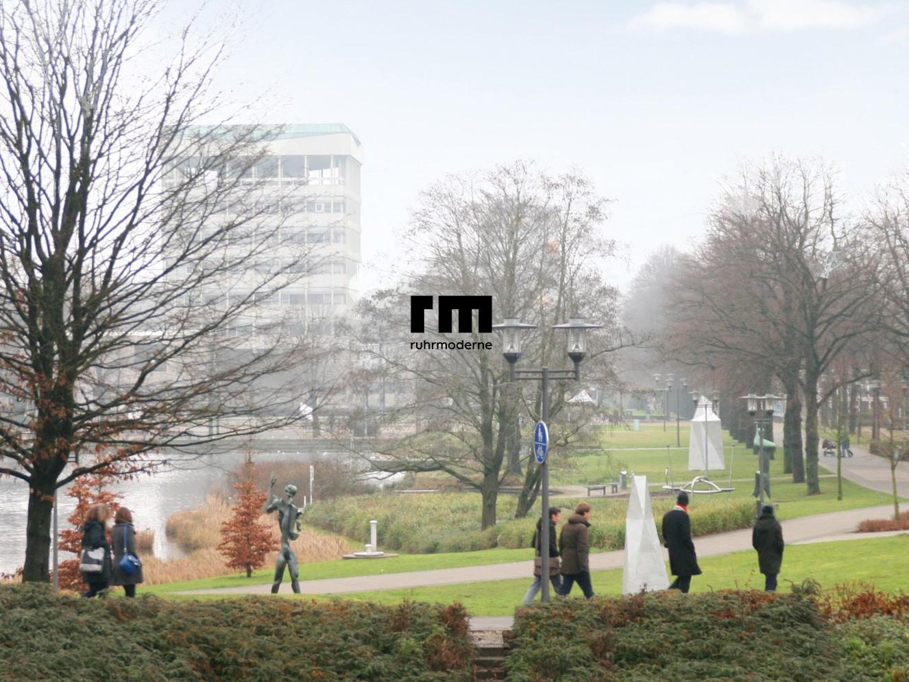 Das Team der Ruhrmoderne auf Erkundungstour in Marl - Foto: Ruhrmoderne e.V.