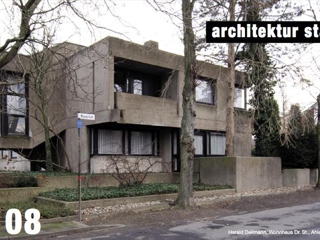 architektur stadt ms - Monatskalender für Münster, Ausgabe 01.2008 (Startnummer), Cover