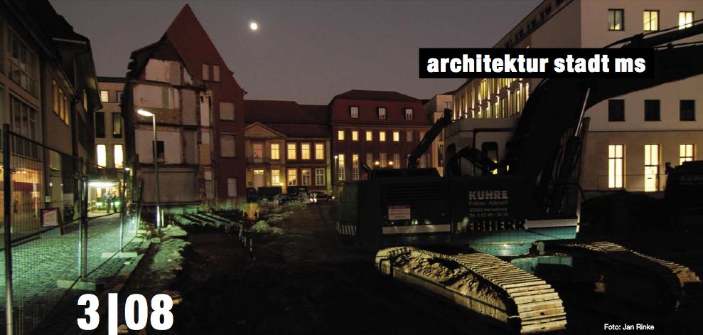 architektur stadt ms: Ausgabe 03.2008