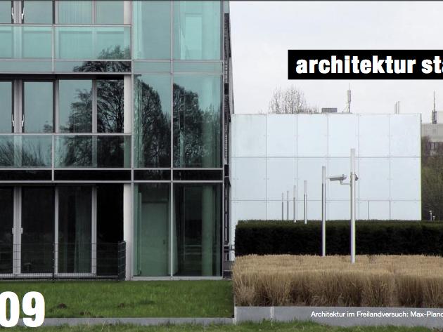 Architektur im Freilandversuch: Max-Planck-Institut in Gievenbeck. Foto: Stefan Rethfeld