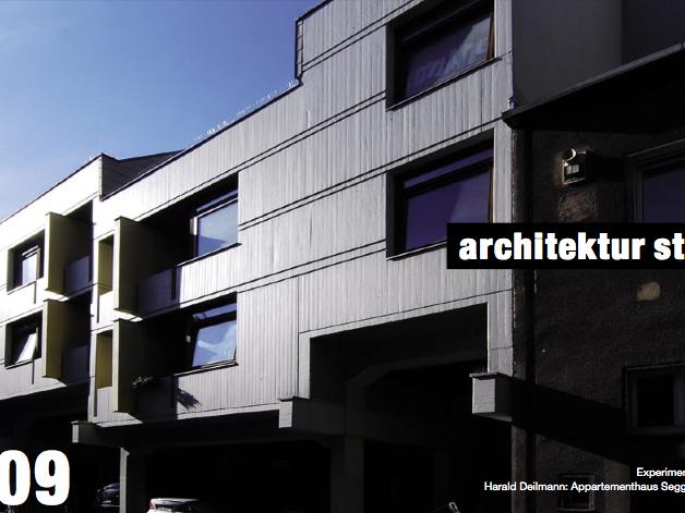 Experiment Wohnen vor 40 Jahren: Harald Deilmann: Appartementhaus Segger, Schützenstraße, 1967. Foto: Jan Rinke