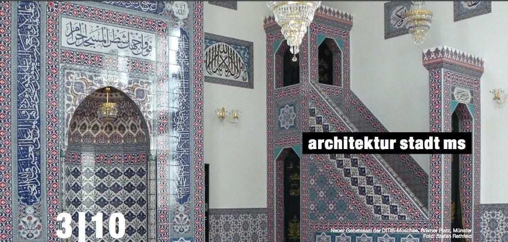 Neuer Gebetssaal der DITIB-Moschee, Bremer Platz, Münster. Foto: Stefan Rethfeld