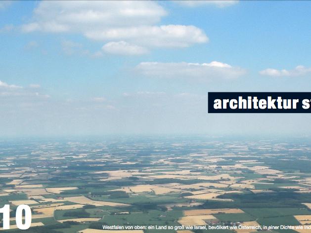 Westfalen von oben: ein Land so groß wie Israel, bevölkert wie Österreich, in einer Dichte wie Indien. Foto: Stefan Rethfeld