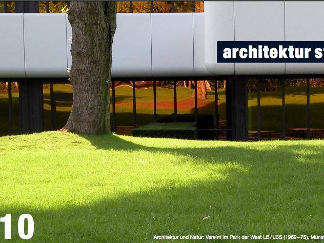 Architektur und Natur: Vereint im Park der WestLB/LBS (1969-75), Münster. Foto: Stefan Rethfeld