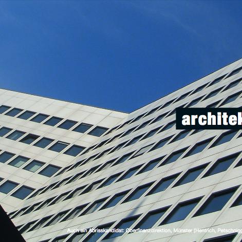 Auch ein Abrisskandidat: Oberfinanzdirektion Münster (Hentrich, Petschnigg & Partner, 1966-69). Foto: Stefan Rethfeld