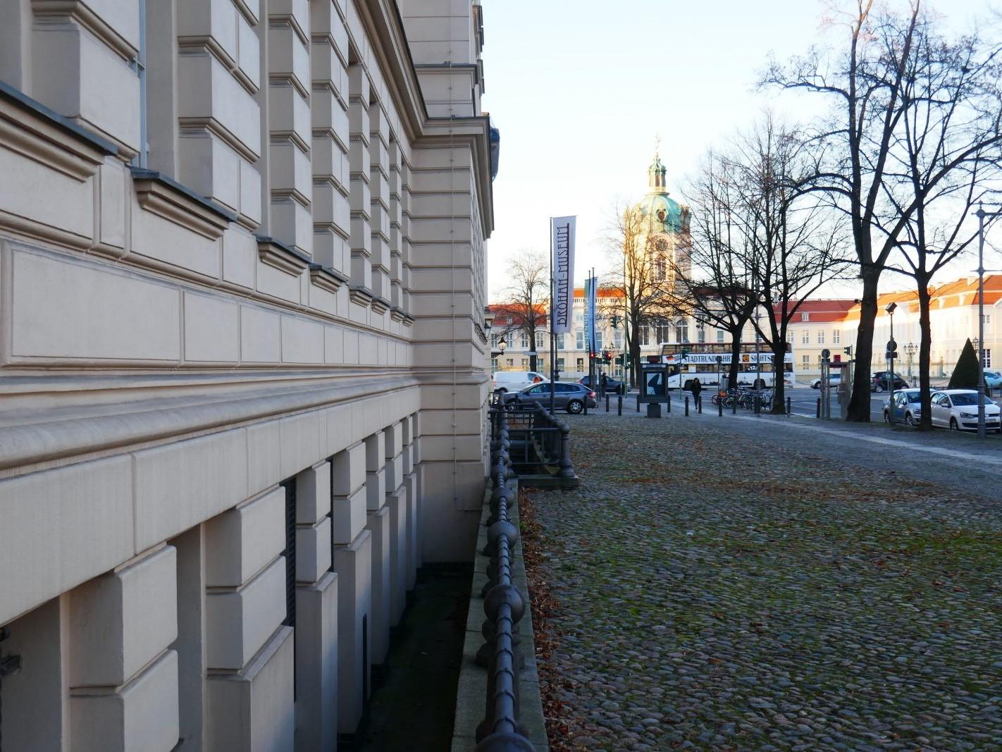 Berlin: Bröhan-Museum - mit Blick auf das Charlottenburger Schloss - Foto: Stefan Rethfeld