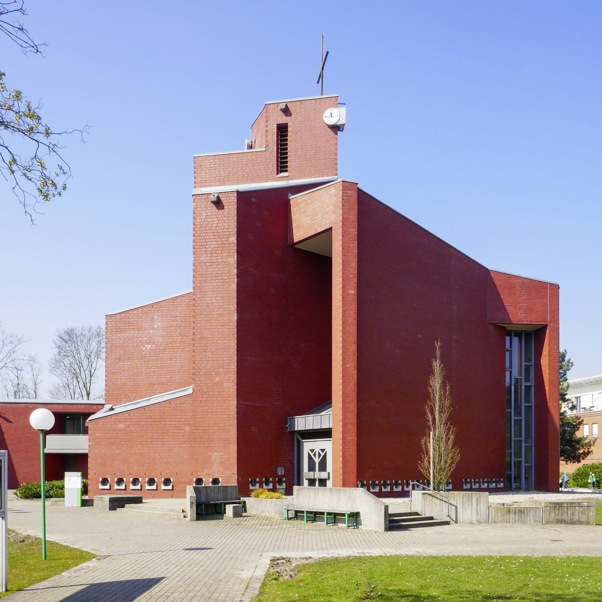 Harald Deilmann: St. Anna Münster (1966-1972) - Foto: Stefan Rethfeld