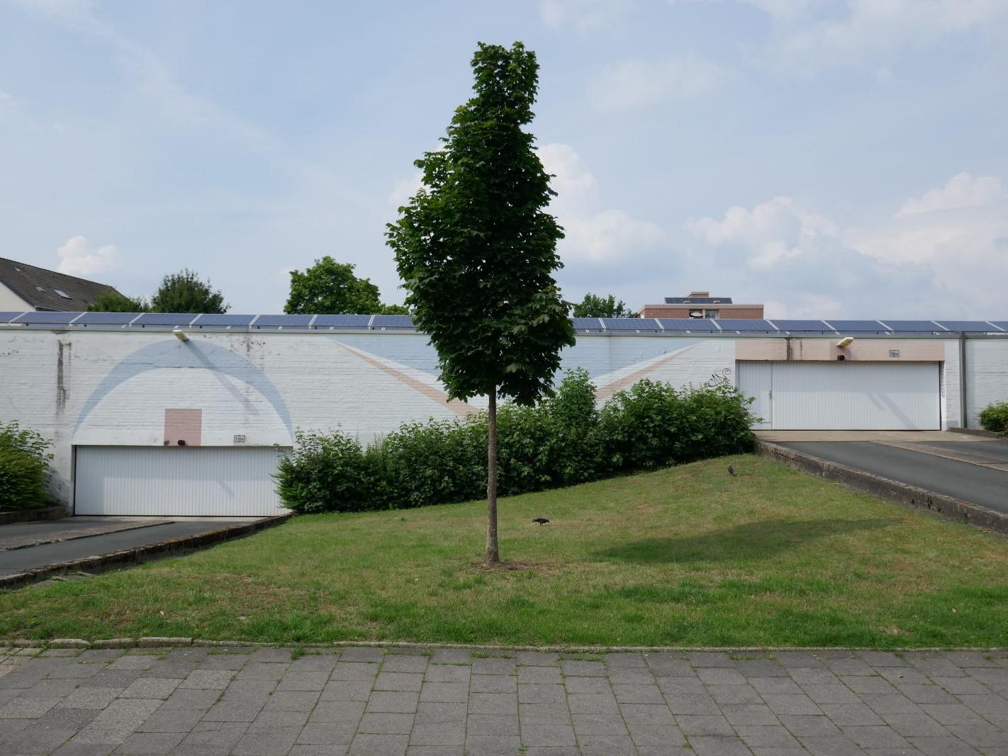 Münster vor Ort: Coerde - Garage Breslauer Straße - Foto: Stefan Rethfeld