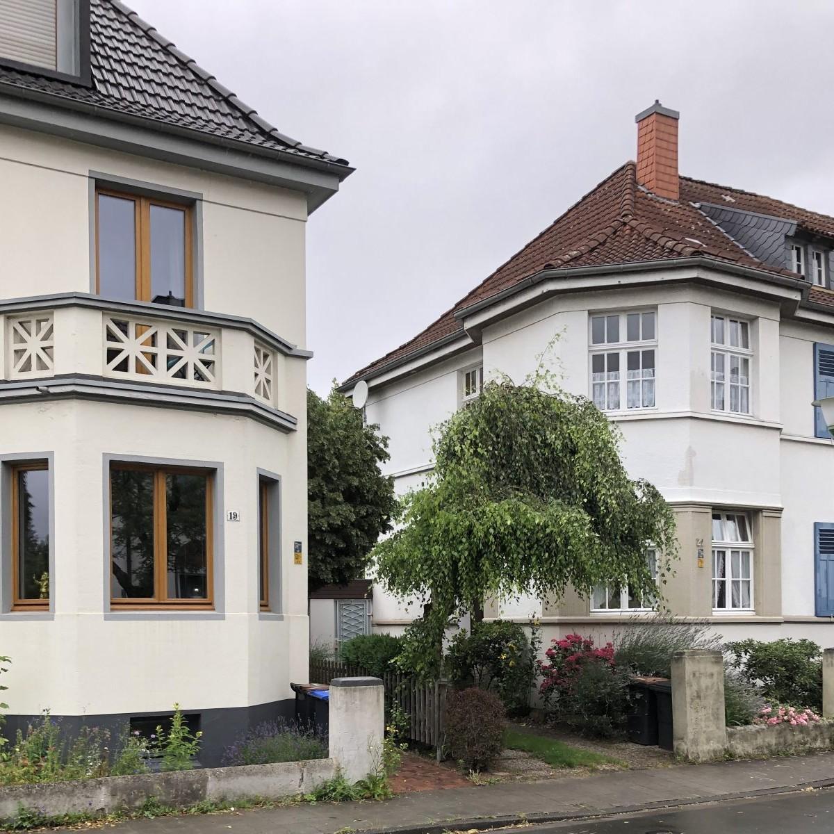 Münster vor Ort: Blitzdorf, Rheinstraße - Foto: Stefan Rethfeld