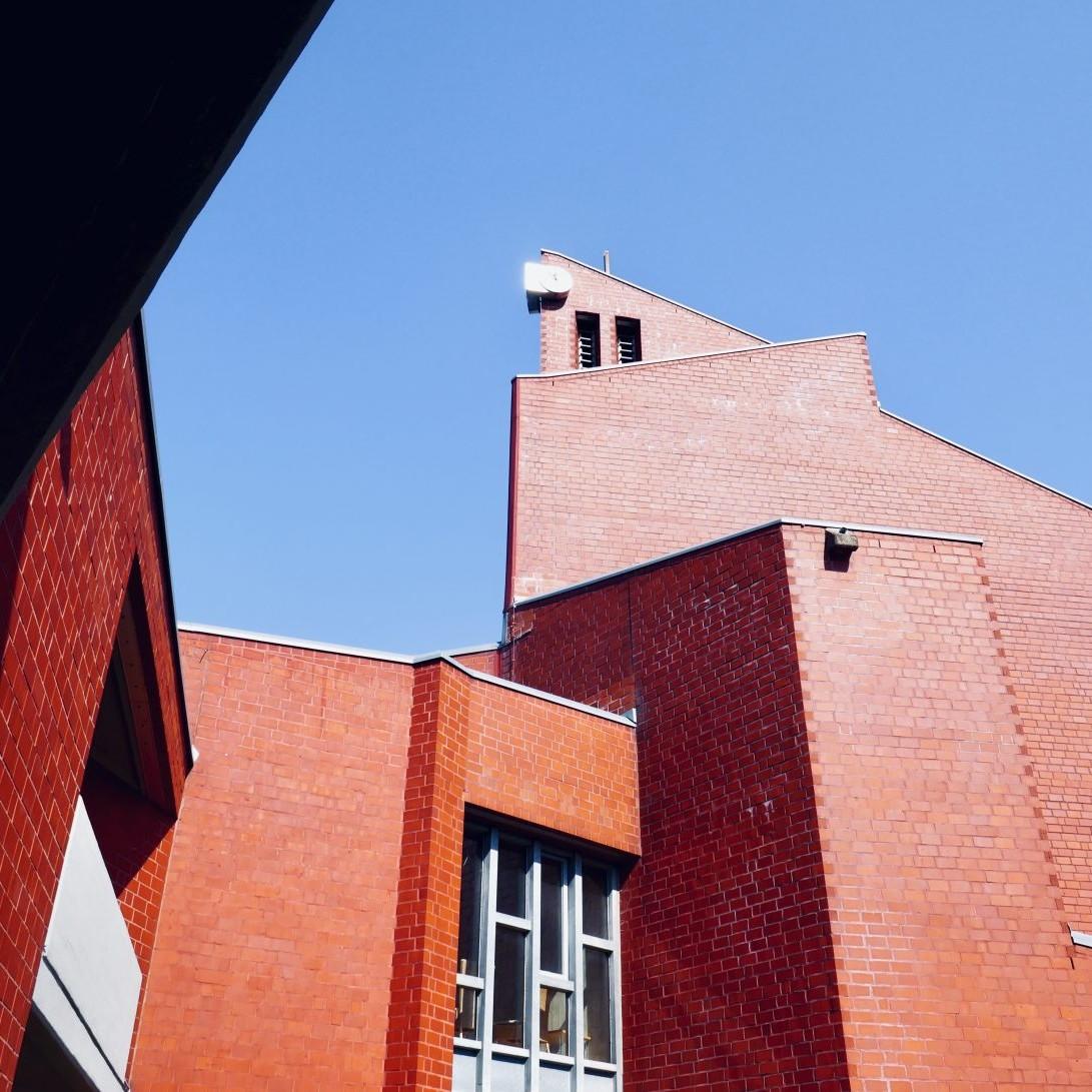 St. Anna-Kirche Münster (1966-1972, Harald Deilmann) - Foto: Stefan Rethfeld