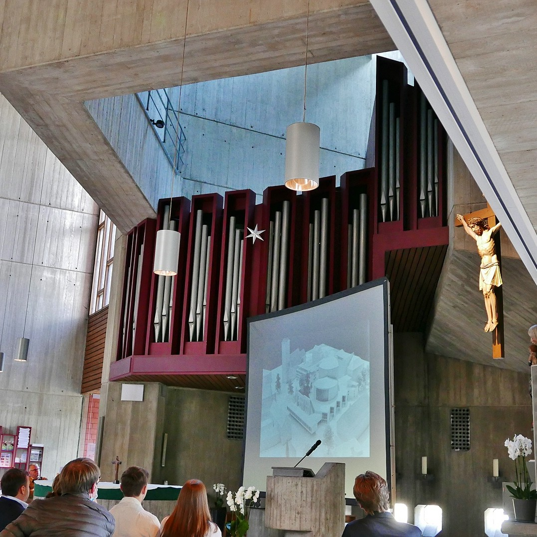 06 A-Z Architekten Harald Deilmann, St. Anna-Kirche Münster - Foto: Wilhelm Walterscheid