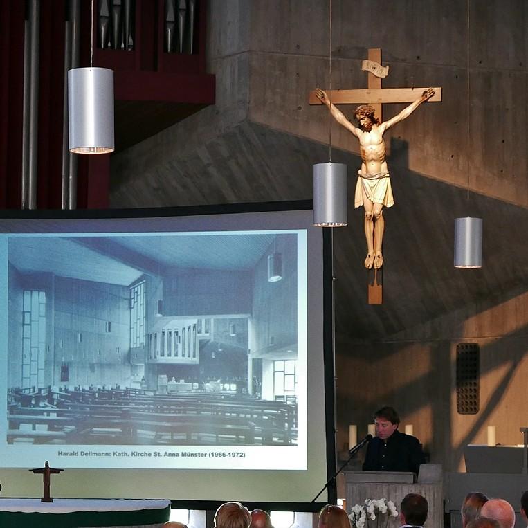 08 A-Z Architekten Harald Deilmann, St. Anna-Kirche Münster, Stefan Rethfeld - Foto: Wilhelm Walterscheid