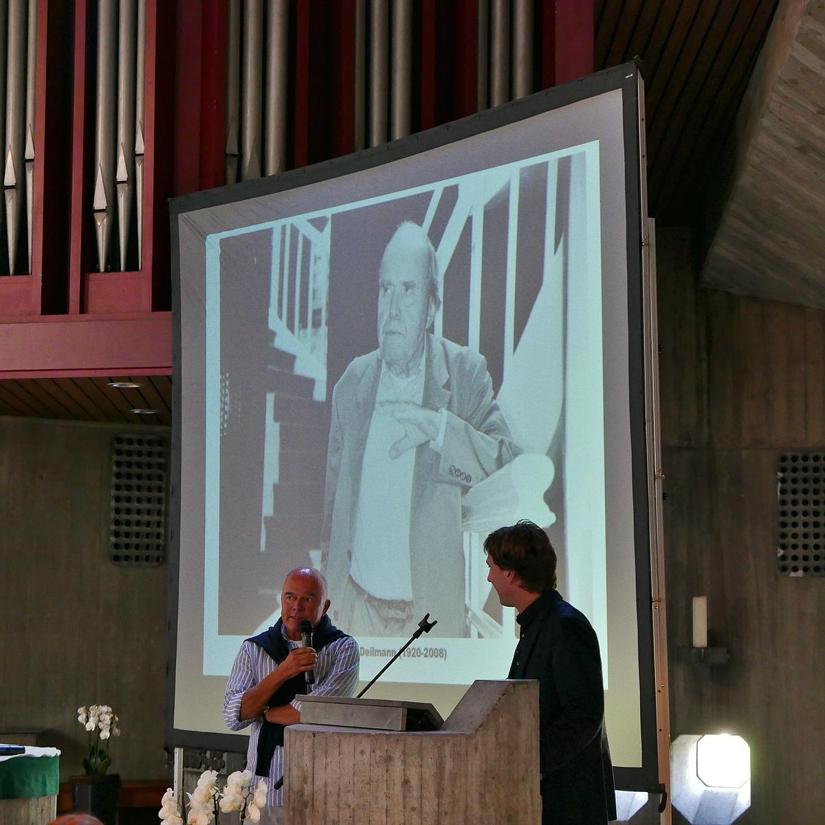 09 A-Z Architekten Harald Deilmann, St. Anna-Kirche Münster, Andreas Deilmann u. Stefan Rethfeld - Foto: Wilhelm Walterscheid
