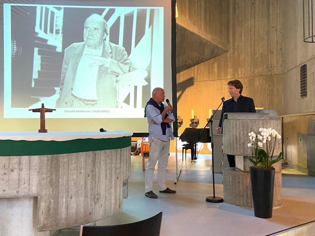 10 A-Z Architekten Harald Deilmann, St. Anna-Kirche Münster, Andreas Deilmann u. Stefan Rethfeld - Foto: Wilhelm Walterscheid