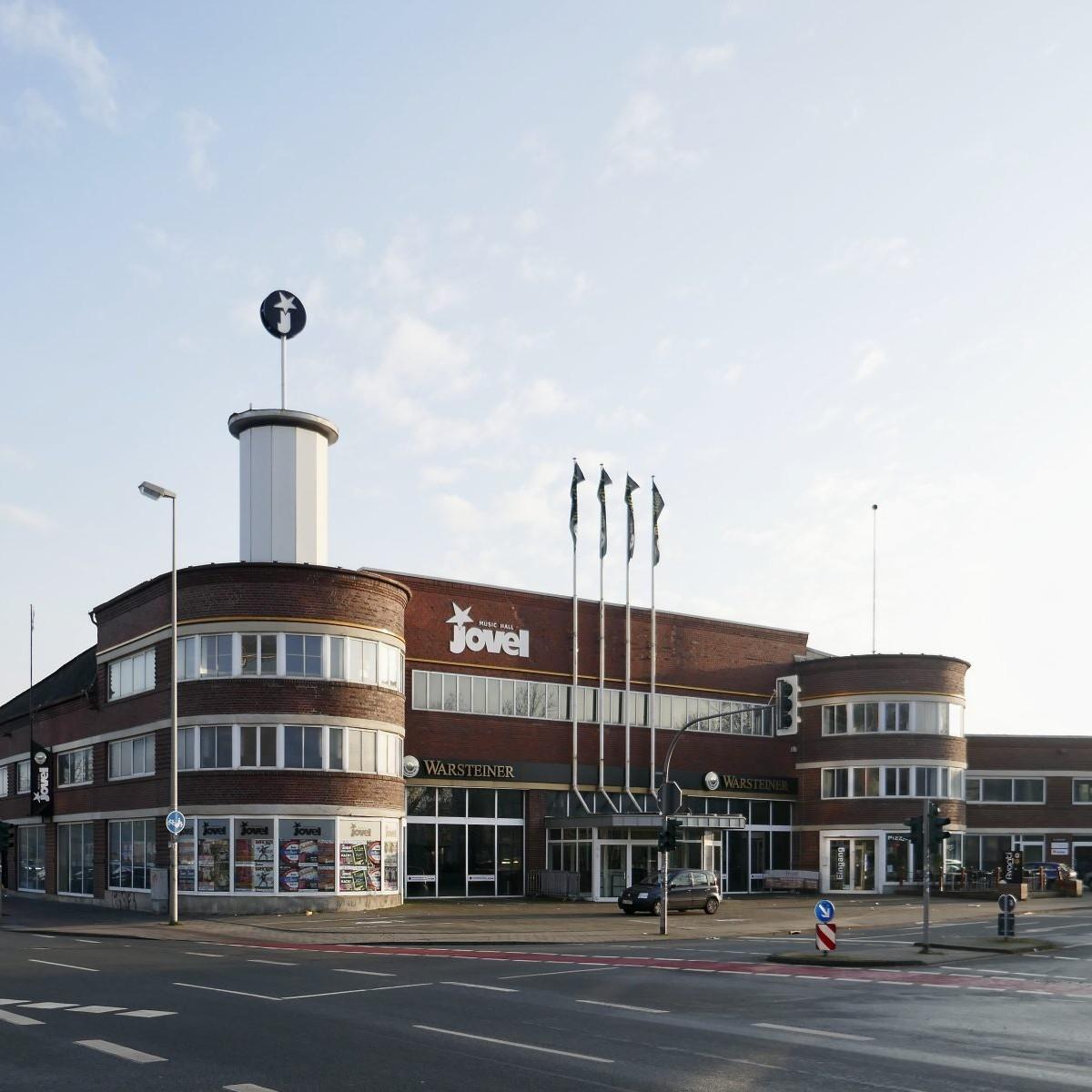 Johannes Nellissen: ehem. Kiffe-Werkstattgebäude (1927-29), heute: Jovel Music Hall - Foto: Stefan Rethfeld