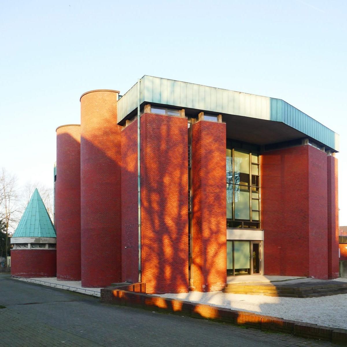 A-Z Architekten: Eberhard M. Kleffner / Christa Kleffner-Dirxen - Bonifatiuskirche Münster (1964/65) - Foto: Stefan Rethfeld