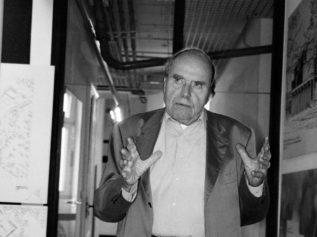 Harald Deilmann - Portrait 2005 - Foto: Wiechmann Aiette-Shagal