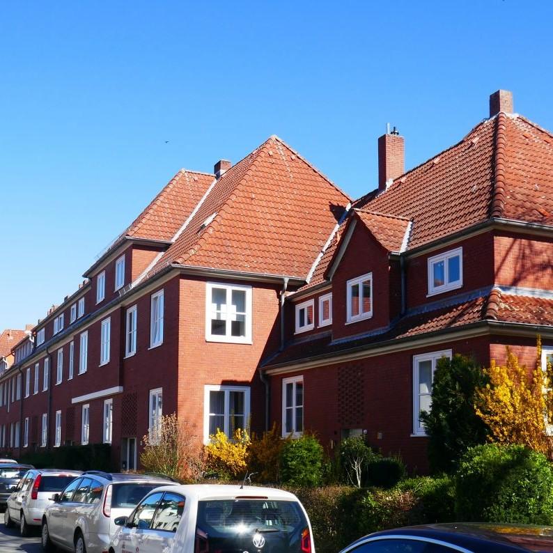 13 Siedlungsbauten Enkingweg / Vincenzweg - Foto: Stefan Rethfeld