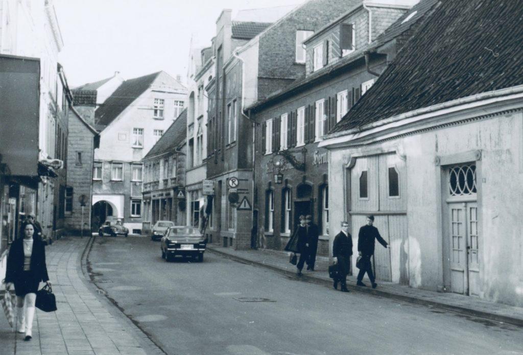 Altstadt Lemgo - im Jahr 1968 - Foto: Baukunstarchiv NRW, Bestand Deilmann